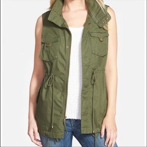 Shebby Green Utility Vest